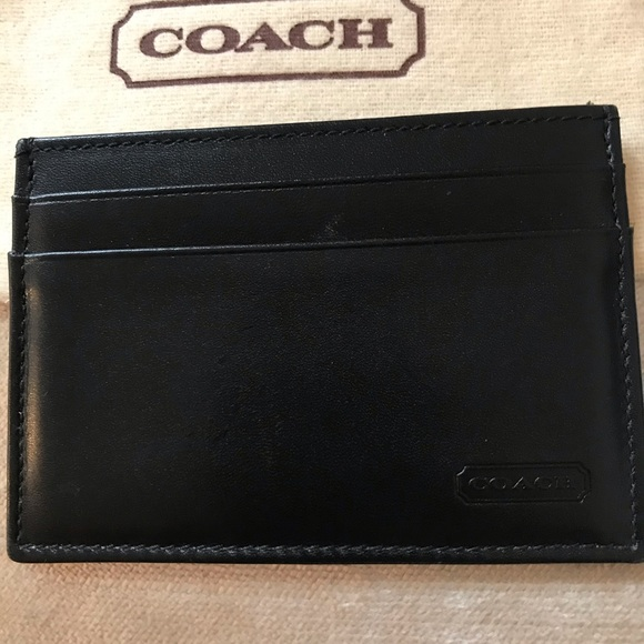 Chocolate Brown credit card holder